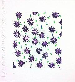 Purple Wallflowers
