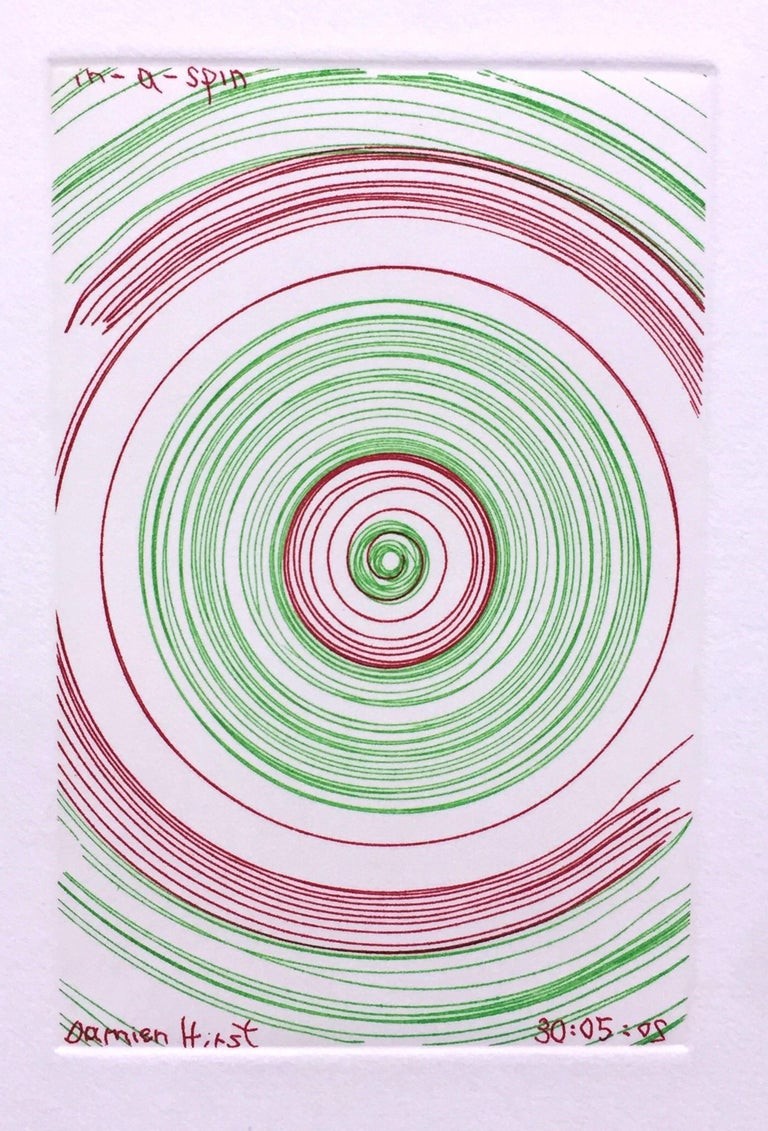 Damien Hirst Abstract Print - In A Spin, from In A Spin Series
