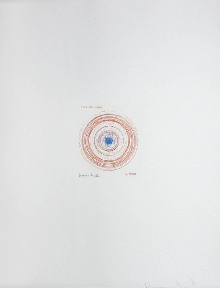 Damien Hirst Abstract Print - Wheel Within A Wheel, from In A Spin Series