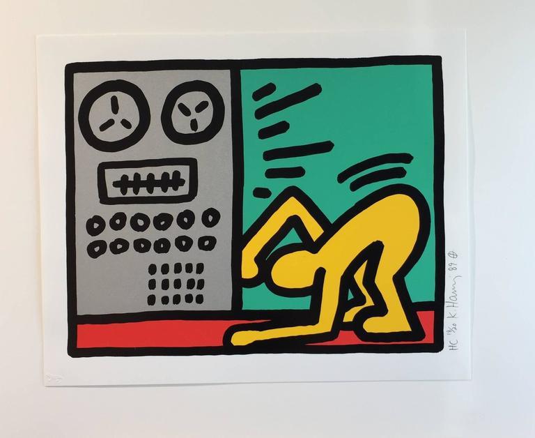 Keith Haring Figurative Print - Pop Shop III D