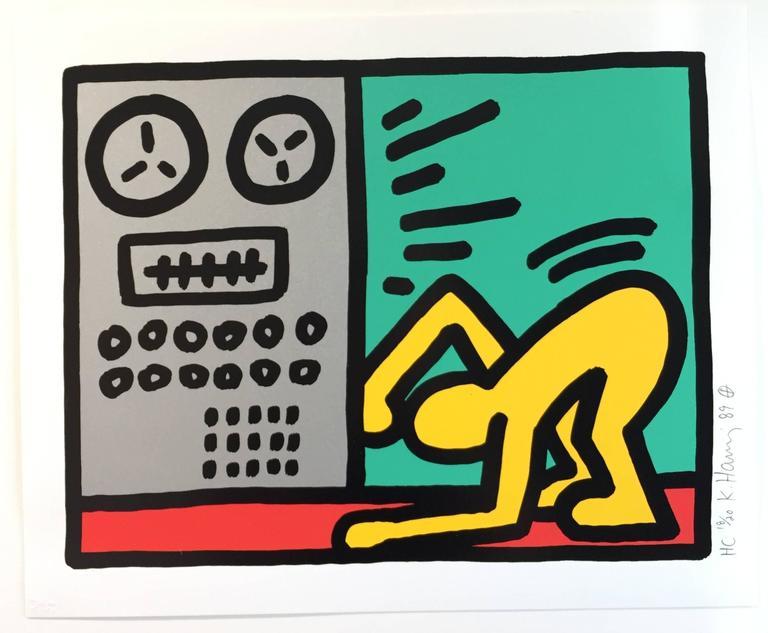 Pop Shop III D - Street Art Print by Keith Haring