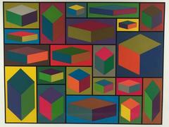 Distorted Cubes #2