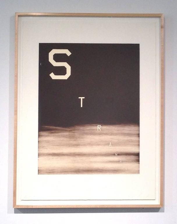 Stranger - Print by Ed Ruscha