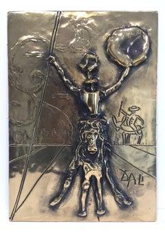 Don Quixote Bas Relief