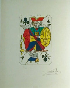 Jack of Clubs, from Playing Cards