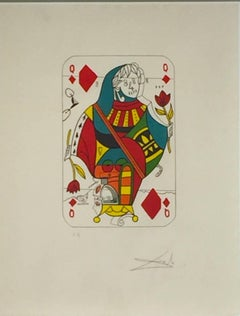Queen of Diamonds, from Playing Cards