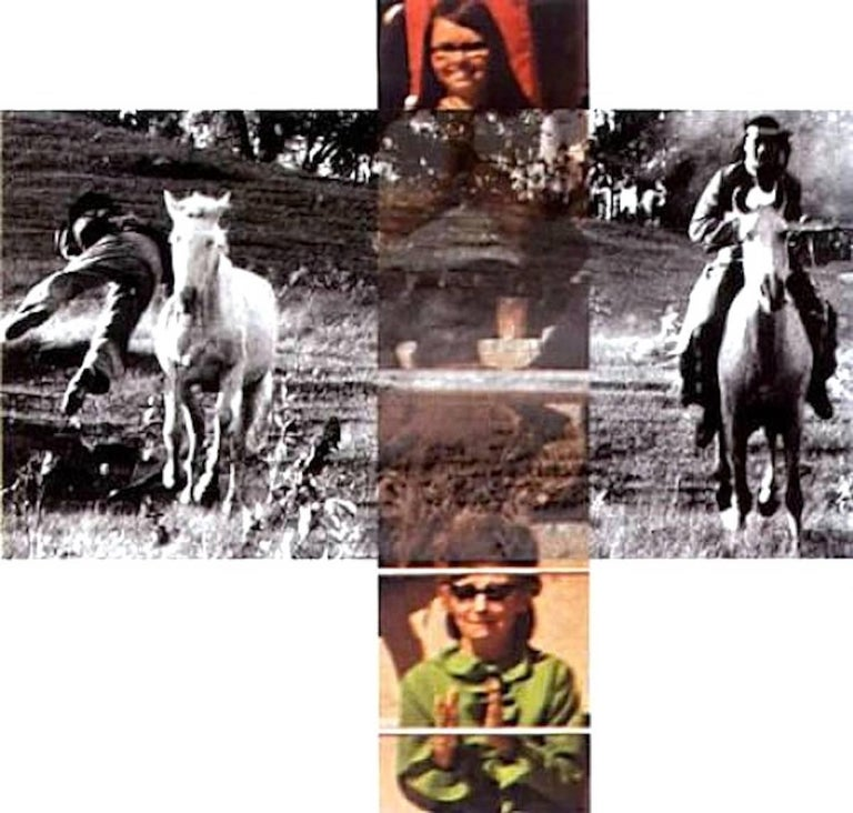 John Baldessari - Intersection Series - Person On Horse And Person Falling From Horse 1
