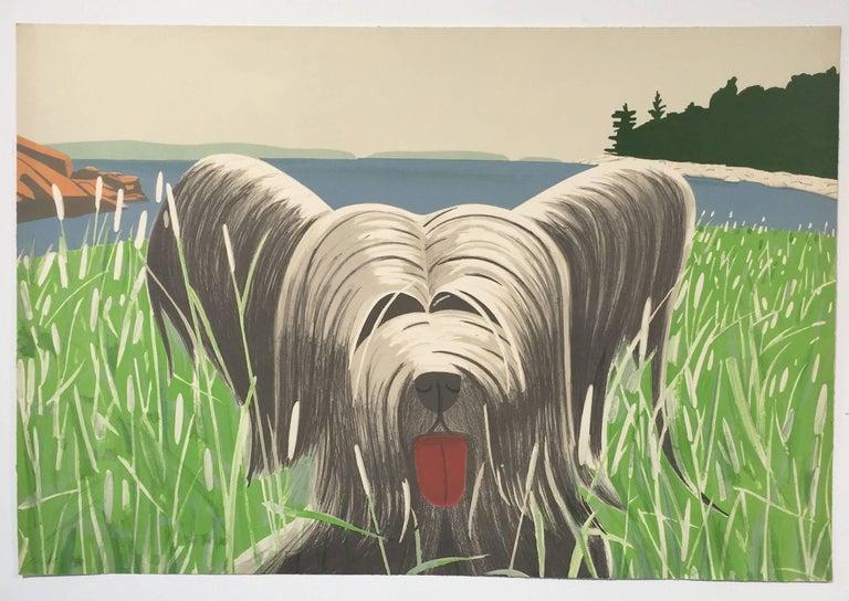 Dog at Duck Trap - Print by Alex Katz