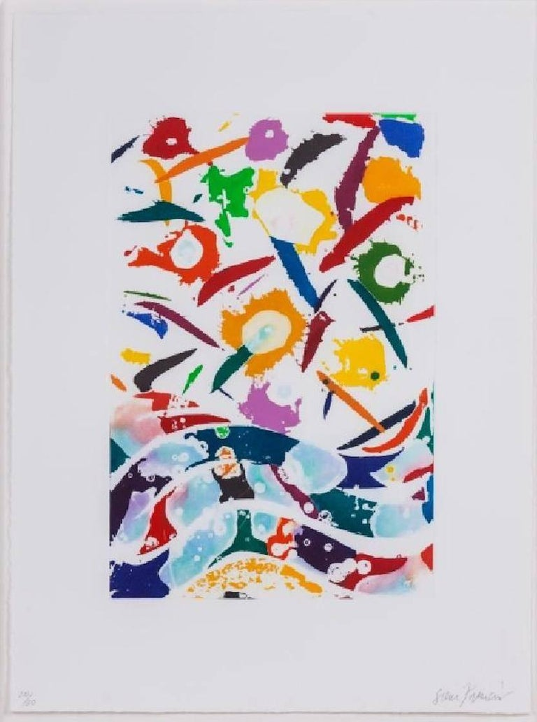 Untitled  - Print by Sam Francis