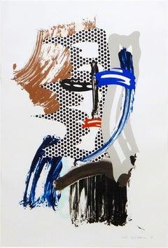 Mask, from Brushstroke Figures
