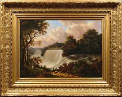 Niagara Falls: View of the American Falls, Taken from Goat Island,