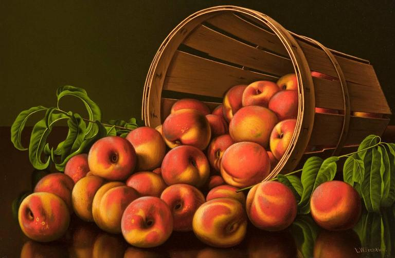 Peaches - Painting by Levi Wells Prentice
