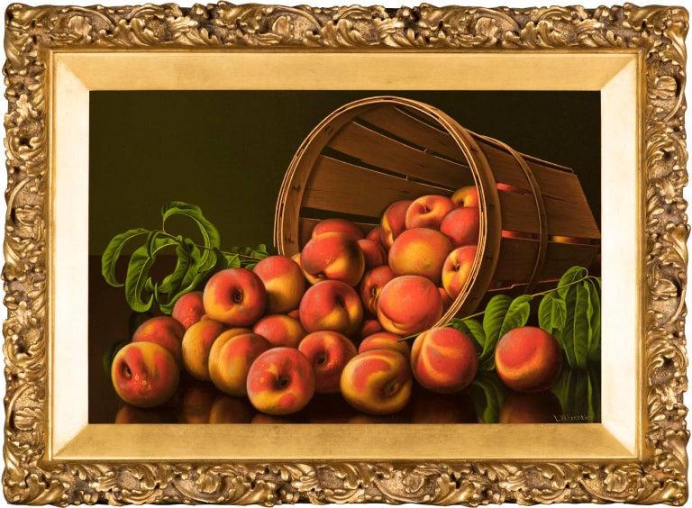Levi Wells Prentice Still-Life Painting - Peaches
