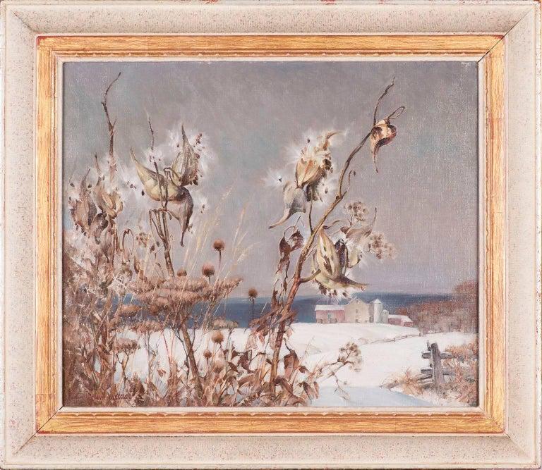 Arthur Meltzer Landscape Painting - Milkweed in Winter