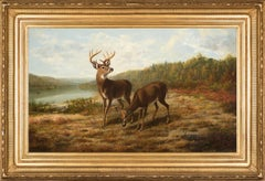 Arthur Fitzwilliam Tait - Buck and Doe: October