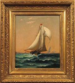 Ships in New York Harbor