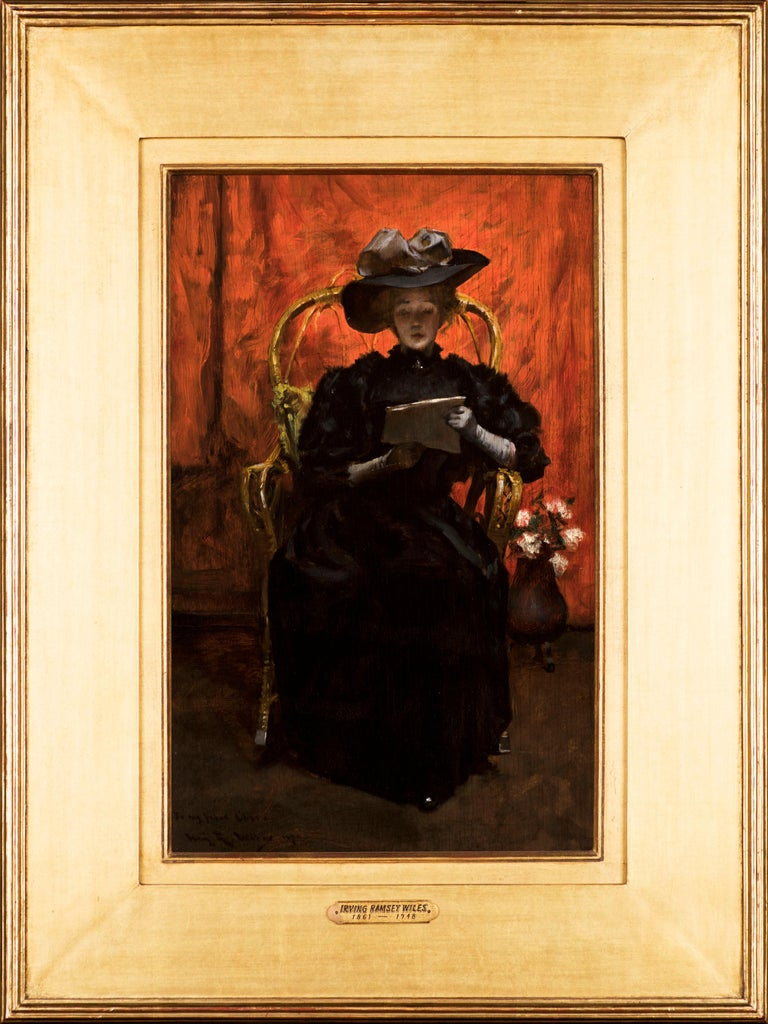 Lady in Black: The Red Room