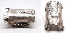 Sappho Cuff in Silver