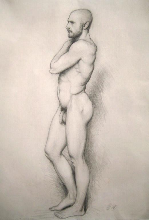 Study of Adriano in Profile