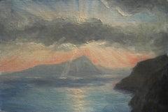 Sunset over Aquafredda