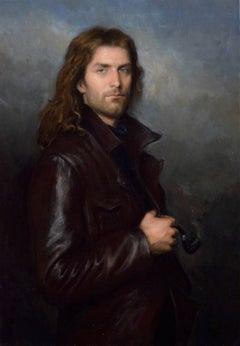 Boreas, contempory portrait of a man, Italian, American