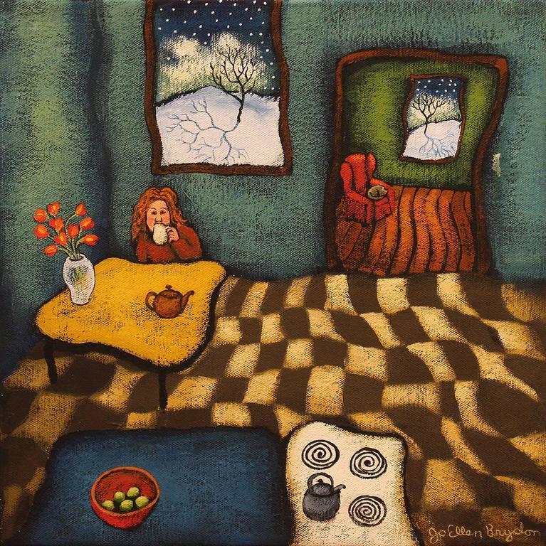 Jo Ellen Brydon Still-Life Painting - A quite moment