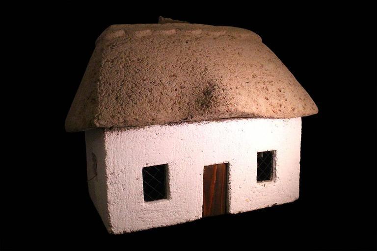 Unknown Still-Life Sculpture - Village House