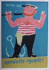 Original vintage advertising poster - 'Upravite rychle'