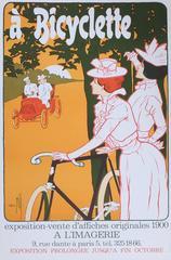 A' Bicyclette, exposition - vente d'affiches originales 1900