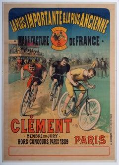 La plus importante et la plus ancienne manufacture (Original cycle poster)