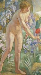 Jeune Femme Nue Au Jardin