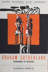 An exhibition poster for Graham Sutherland