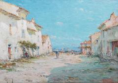 The Rue de Joncquieres a Berre, Martigues