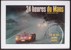 1971 Le Mans poster