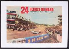 1973 Le Mans poster