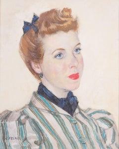 Portrait of the artist Margot Russell