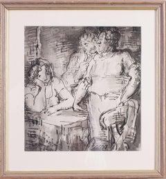 An original 20th Century British drawing by the British illustrator Ardizzone