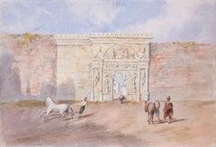 George Dennis - Puerta Romana, Cordova, Spain, 1836