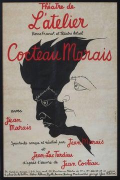 'Cocteau - Marias', Theatre de l'Atelier, Montmartre, Paris