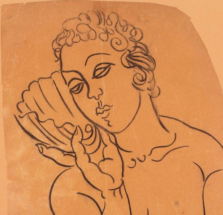 Vénus à la Coquille - Fauvist Art by Raoul Dufy