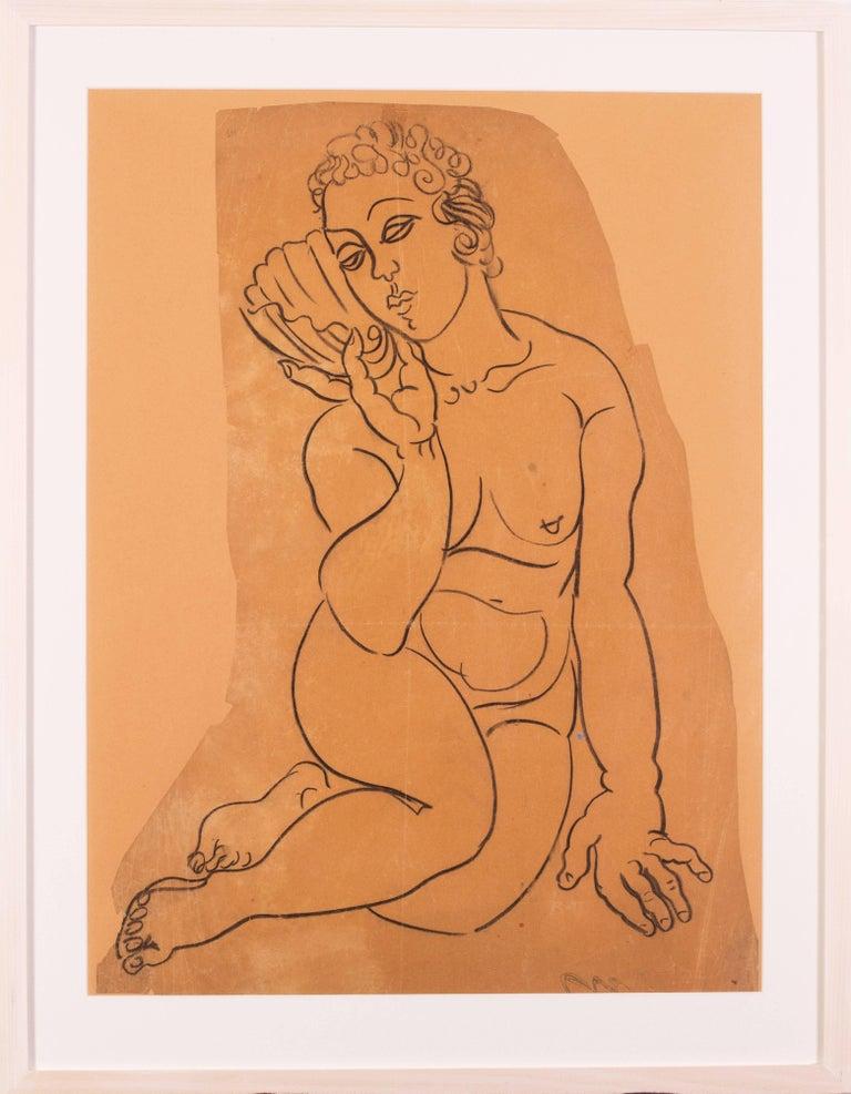 Raoul Dufy Nude - Vénus à la Coquille