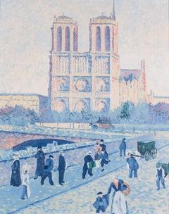 The Quai Saint-Michel and Notre-Dame