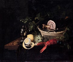 Still Life with Lobster and Lemon