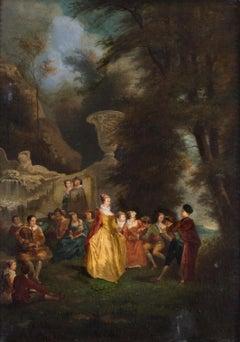 Fête champêtre (A garden party)