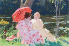 Apres le bain (After a swim), a stunning impressionist work