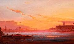 Sunset over the Venetian Lagoon