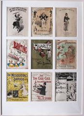 Sheet music covers, early 19th Century