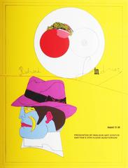 A poster for the Richard Lindner exhibition presented by Walker Art Centre