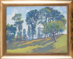 Les arbres aux environs d'Yssingeaux