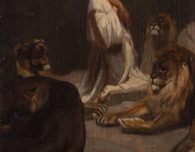 Daniel and the lions - Painting by Unknown